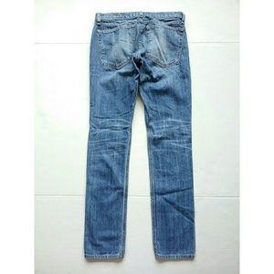 rag & bone Jeans - Rag & Bone The Dre Broken-In Boyfriend Patch Jeans